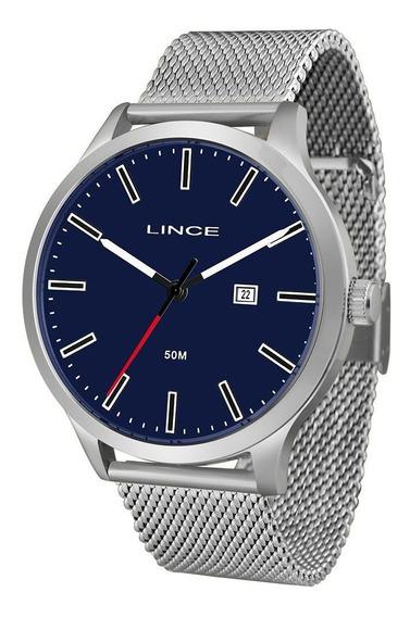 Relógio Lince Prata Masculino Mrm4494sd1sx