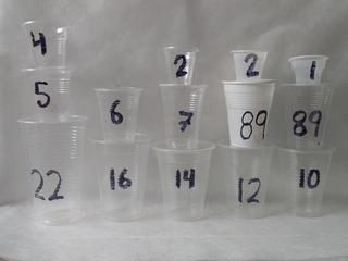 Bulto Caja Vaso Plástico Desechable Mayor Lista De Precios