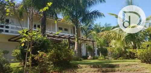 Chácara Com 4 Dormitórios À Venda, 1700 M² Por R$ 1.680.000,00 - Estância Recreativa San Fernando - Valinhos/sp - Ch0024