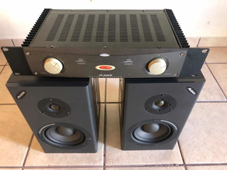 Amplificador Rack Alessis Ra150 Monitores Alessis One Mk2