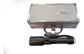 Lanterna Cree Led T6 C/ Regulagem Eletrônica De Foco