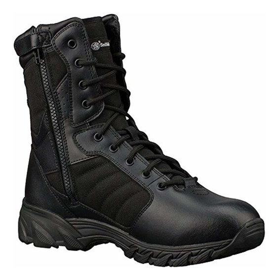 Smith & Wesson Men S Breach 2.0 Tactical Side Zip Boots - 8