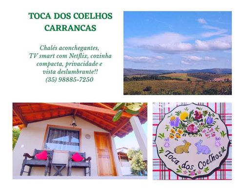 Chalés Carrancas Mg - Venha Curtir A Natureza Com Conforto!