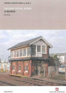 Railway Signal Boxes - John Minnis (paperback)