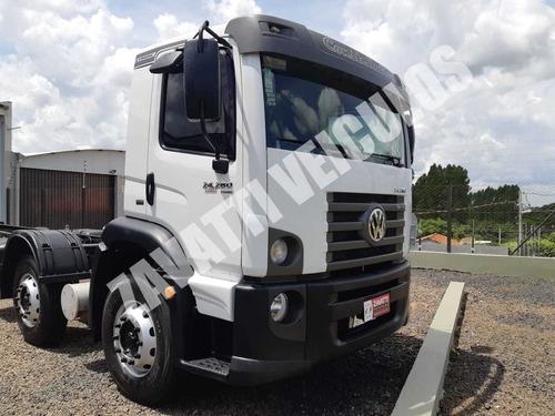 Vw 24280 4º Eixo V-tronic Ano 2018 Completo Automatico