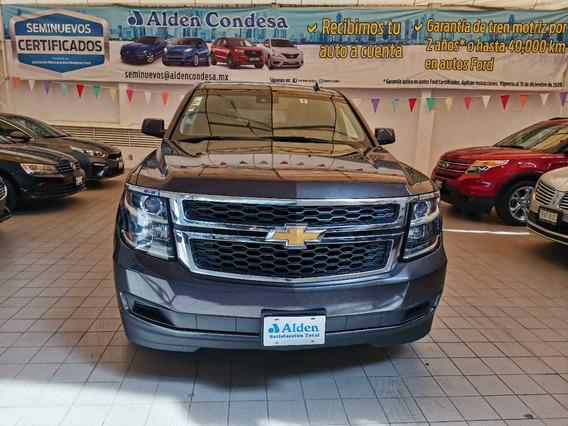 Chevrolet Suburban 2017 5p Lt V8/5.3 Aut Piel 2da/banca
