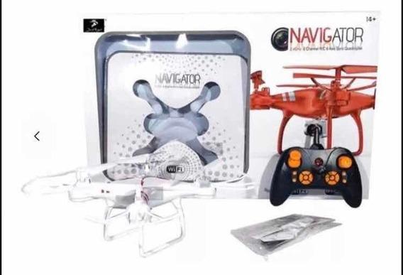Drone Navigator 2.4gh.z C/ Wifi E Camera Hd