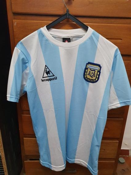 Camiseta Argentina Lecoq Maradona