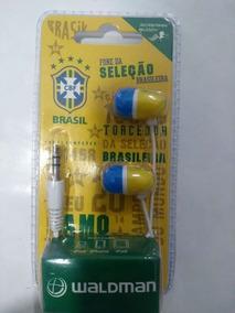 Fone De Ouvido Da Seleção Brasileira Original