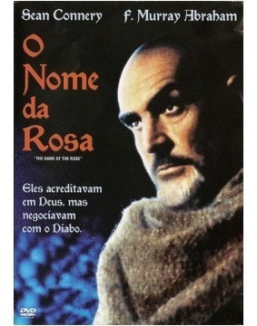 O Nome Da Rosa - Sean Connery - Novo - Lacrado