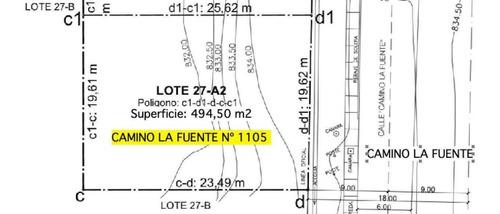Camino La Fuente 1111 - Sitio Nuevo 1105