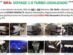 Voyage 1.9 Ap Turbo Legalizado