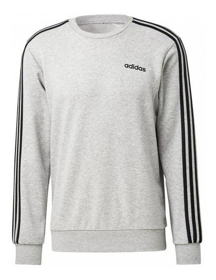 Blusa adidas Moletom Essentials 3-stripes - Du0486 Original