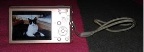 Câmera Digital Sony Seminova Poucos Meses De Uso Sem A Caixa