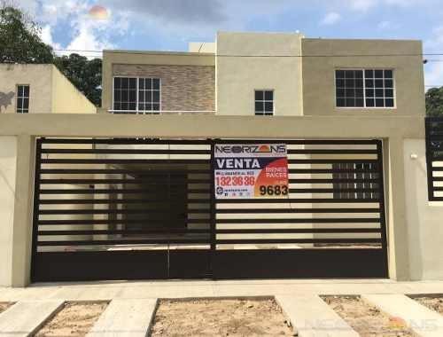 Casa En Venta En Tampico Col. Niños Héroes