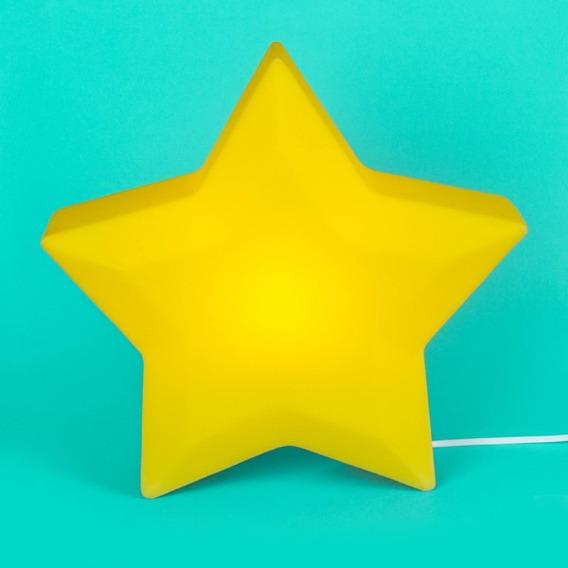 Luminária Pendente Estrela Amarela - Usare