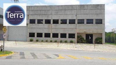Galpão Industrial Para Locação, Parque Industrial San José, Granja Viana. - Ga0082