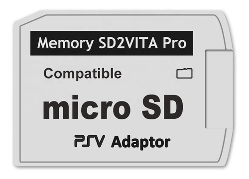 Sd2vita Pro5.0 Adaptador Micro Sd Psvita !!