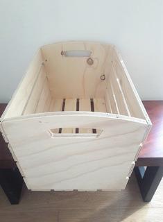 Huacal De Madera - Caja De Madera -vintage -moderno