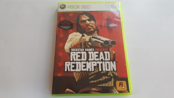 Red Dead Redemption - Xbox 360 / One - Original Mídia Física