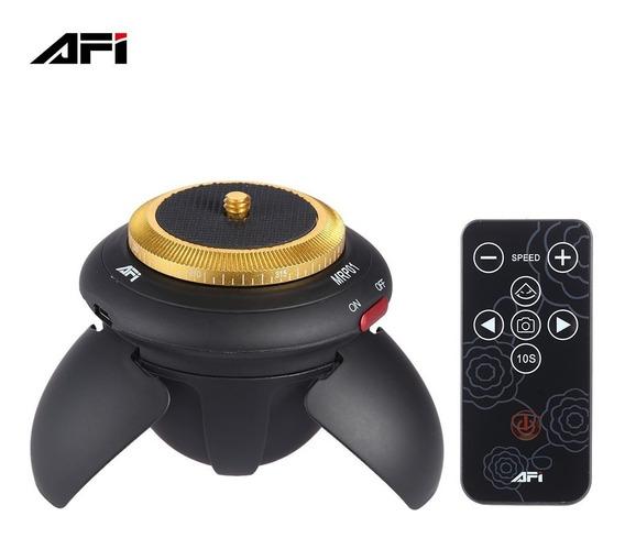Mini Cabeça Panorâmica Motorizada Afi Mrp01 Rotação De 360°