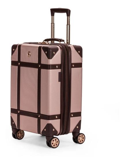 Maleta Viaje Original Swissgear Color Rosa Oro Envio Gratis