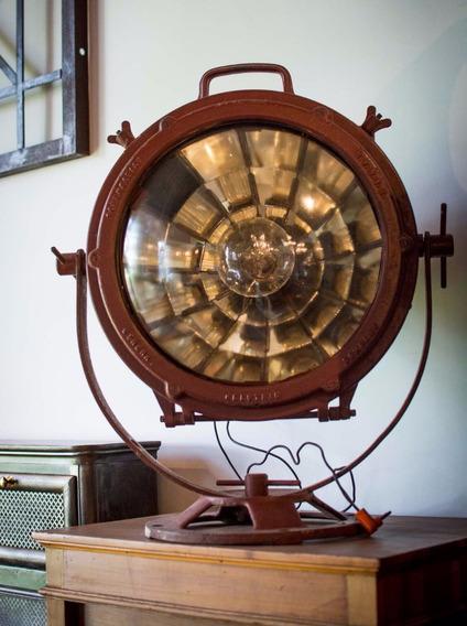 Busca Huellas Reflector Marítimo Antiguo. Art 70275