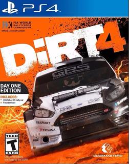 Dirt 4 Ps4 Digital Sec. 2 * Egames