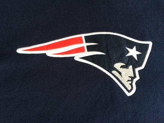 Blusa Moletom Canguru - New England Patriots Nfl