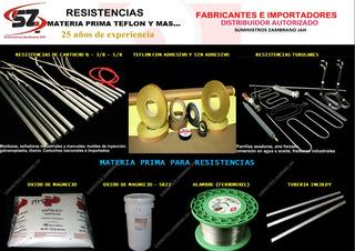 Resistencia Tubular O Cartucho De 1/2 - 3/8 - 5/8 -1/4