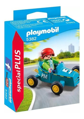 Playmobil Special Plus 5382 Niño Con Karting Original Intek