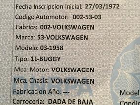 Volkswagen Escarabajo Buggy