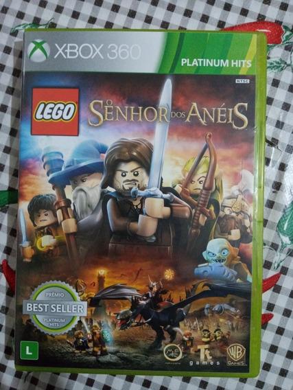 Lego Senhor Dos Aneis Xbox 360 Original Em Midia Fisica