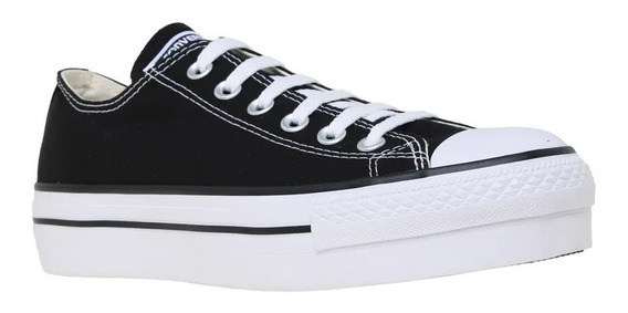 Zapatilla Converse Lifestyle Mujer Ct All Star Platform Ras