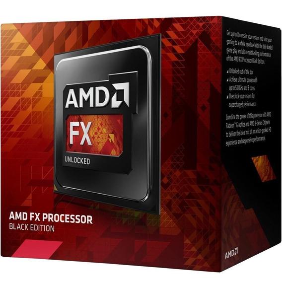 Processador Amd Fx 8300 Black, Cache 16mb, 3.3ghz (4.2ghz)