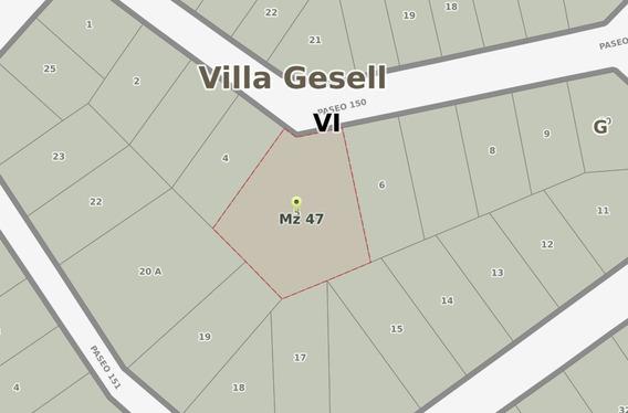 Ref: 1532 - Lote En Venta - Villa Gesell - Zona Medanos Del Sur