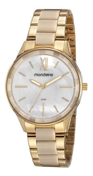 Relógio Feminino Mondaine Madrepérola Rosê 53977lpmvrf2