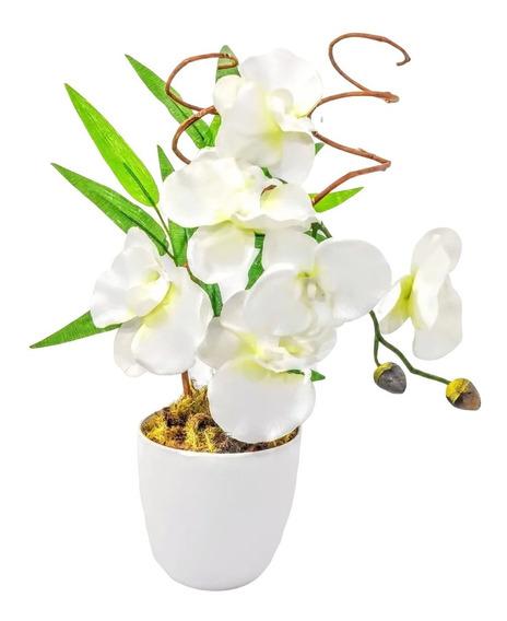 Arranjo Orquideas Artificiais - Vasos Flores Artificial Flor