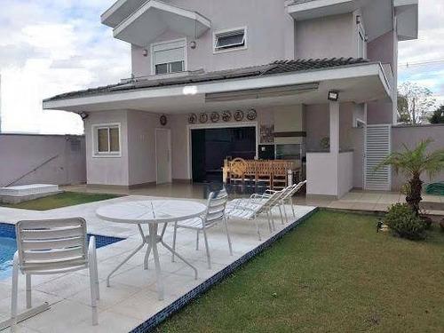 Espetacular Casa  Com 3 Dormitórios À Venda, 240 M² - Condomínio Fechado -jd California - Jacareí/sp - Ca1842