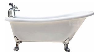 Bañera Tipo Antigua Patas Leon 170 X 75 Llenado + Duchador