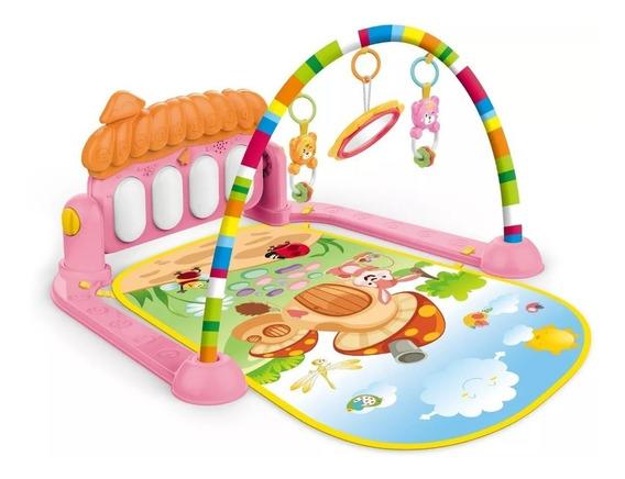 Tapete De Atividades Estimulador De Bebê Musical Toca Piano