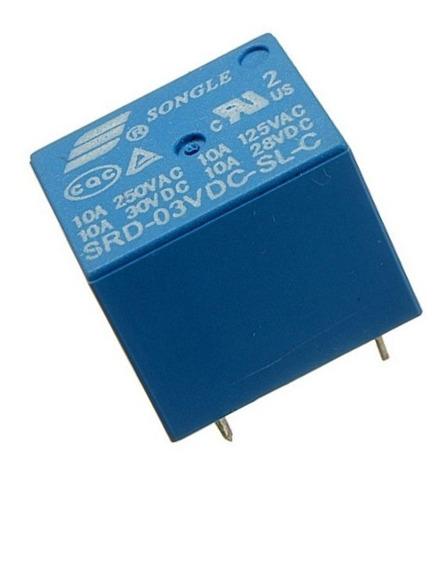 Relé 3v 3.3v 10a Srd-03vdc-sl-c Esp8266 Raspberry Arduino
