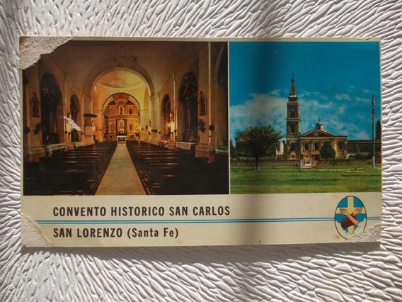 8115- Postal San Lorenzo, Convento San Carlos Santa Fe