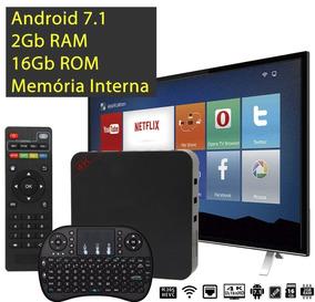 Aparelho Transformar Tv Em Smart Android 2gb Ram+teclado