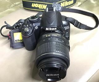 Cámara Nikon D3100 C/estuche, 2 Baterías, Memoria Sd 32 Gb