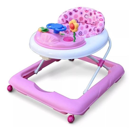 Andador Mega Baby Bebe Musical Bandeja Con Actividades