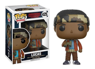 Funko Pop Lucas 425 Stranger Things Figura Coleccionable