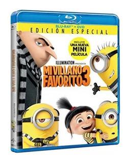 Mi Villano Favorito 3 Blue Ray + Dvd