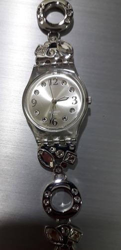 Relógio Swatch Swiss Menthol Tone White Lk321g