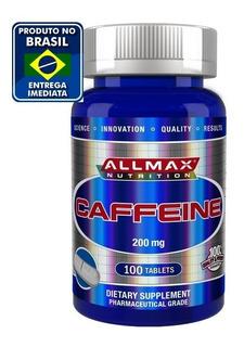 Cafeína 200mg 100 Tablets Allmax